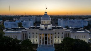 Alabama statehouse in montgomery