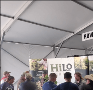 HilLo Seed Co presenting at World Ag Expo in Tulare, California.
