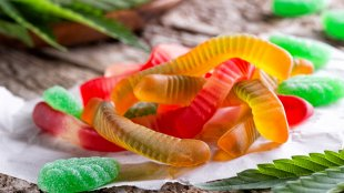 weed gummy worms