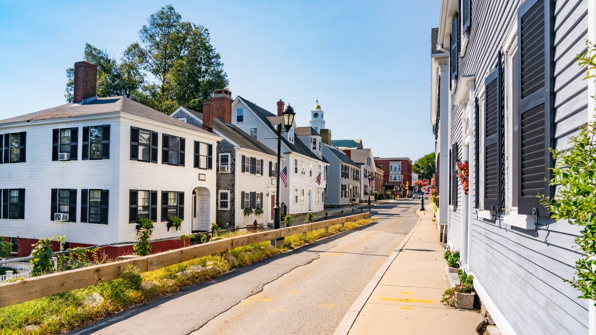 Historic homes in Plymouth massachusetts