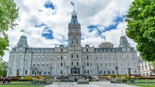 National Assembly Building in Quebec City on a sunny day