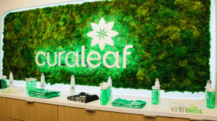 Curaleaf sign at one of their dispensaries