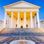Virginia State Capitol in Richmond Virginia
