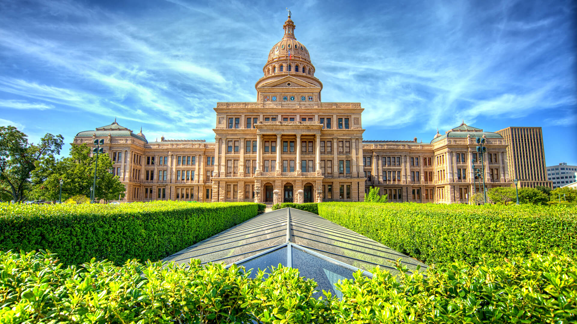 The Texas State Capitol Building in Austin, TX